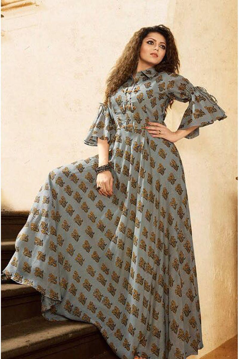 Peach Party Wear Cotton Dress Material | Buy salwar kameez