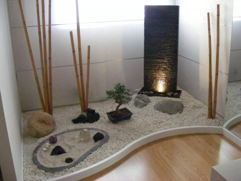 Jardin Zen Es Un Estilo De Japones En Seco Que Utilizado Por Los Monjes Para Meditacion Creados Con Arena Grava Rocas Y Algun Elemento Natural