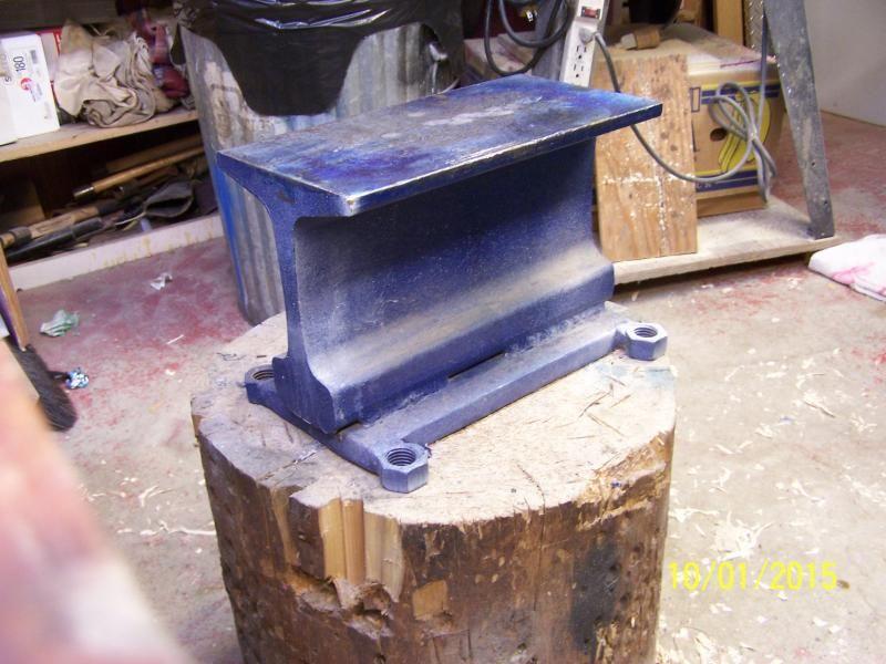 Rr Track Anvil Metal Projects Anvil Blacksmith Tools