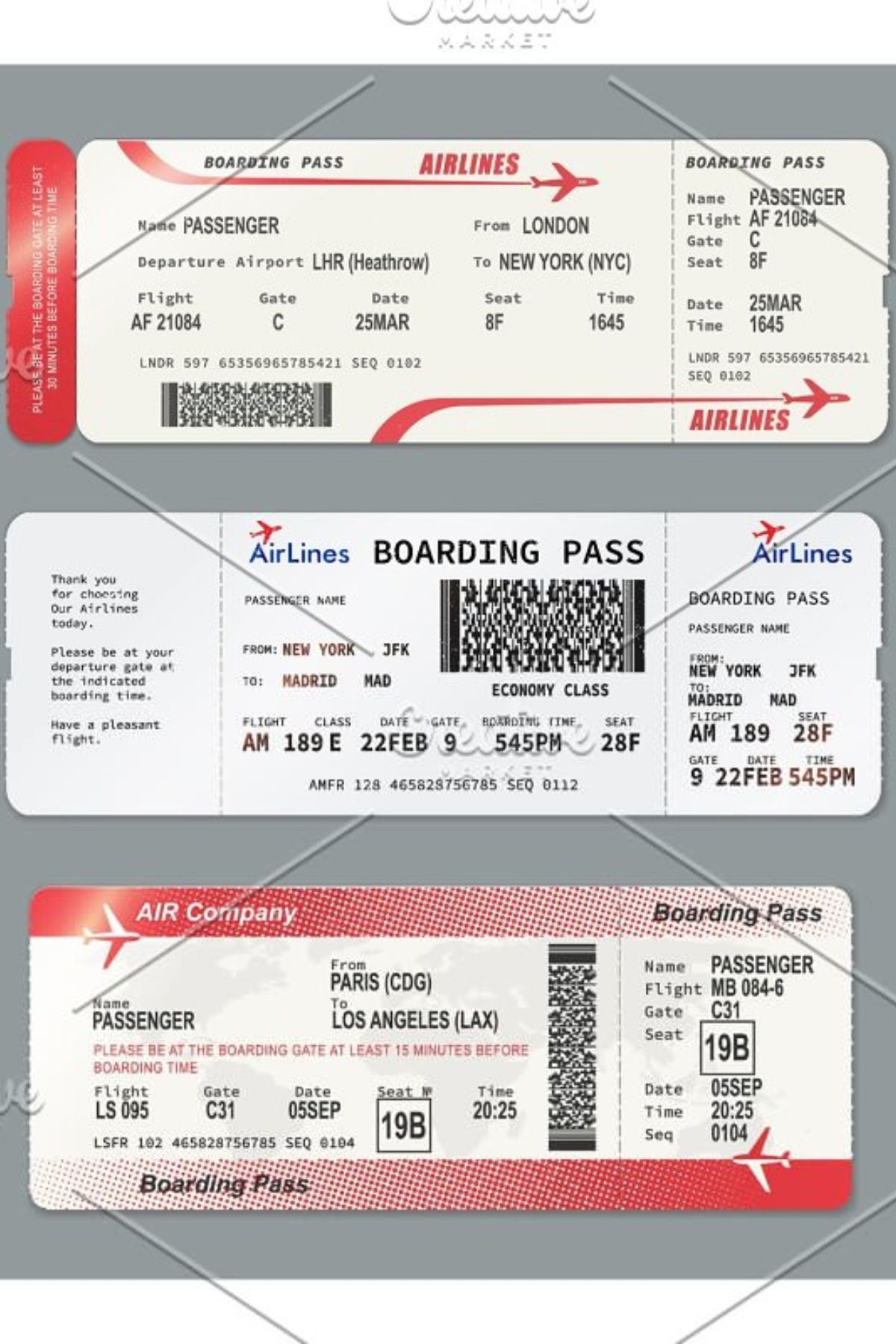 Fake Plane Ticket Generator : plane, ticket, generator, Plane, Ticket, Template, Boarding, Airline, Tickets,, Ticket,