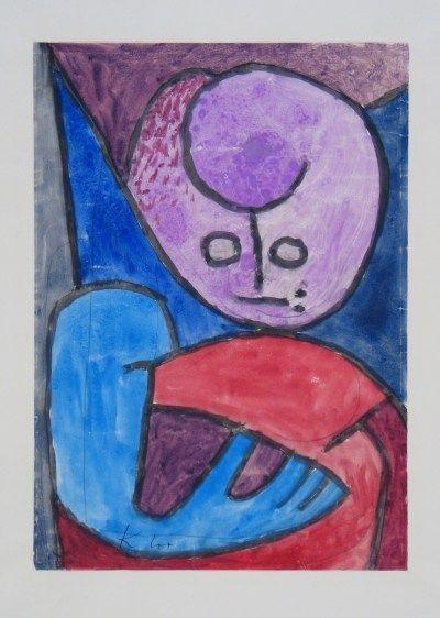 Paul Klee 'Kleiner Blauhänder' (Little or Young Blue Hand [my own attempt at translation]) 1939