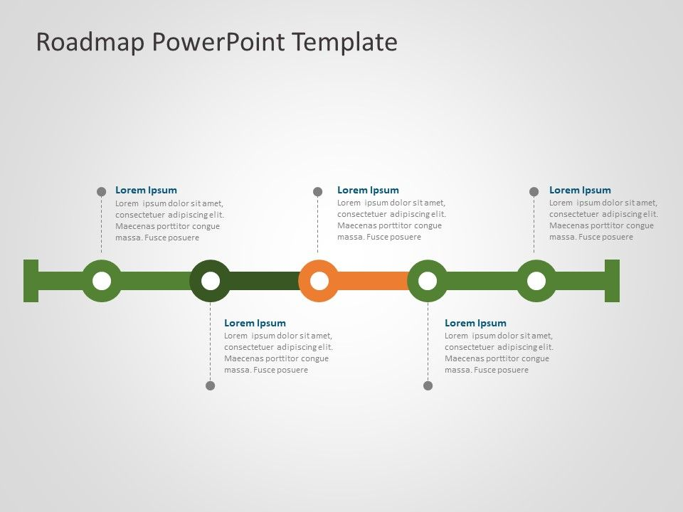 Business Roadmap Powerpoint Template 25 Powerpoint Templates Powerpoint Slide Templates Powerpoint