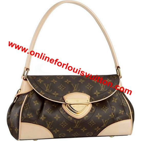 LOUIS VUITTON MONOGRAM CANVAS BEVERLY MM M40121 -Can be