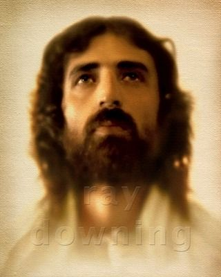 Jesus in Glory  Image digitally created from the Shroud