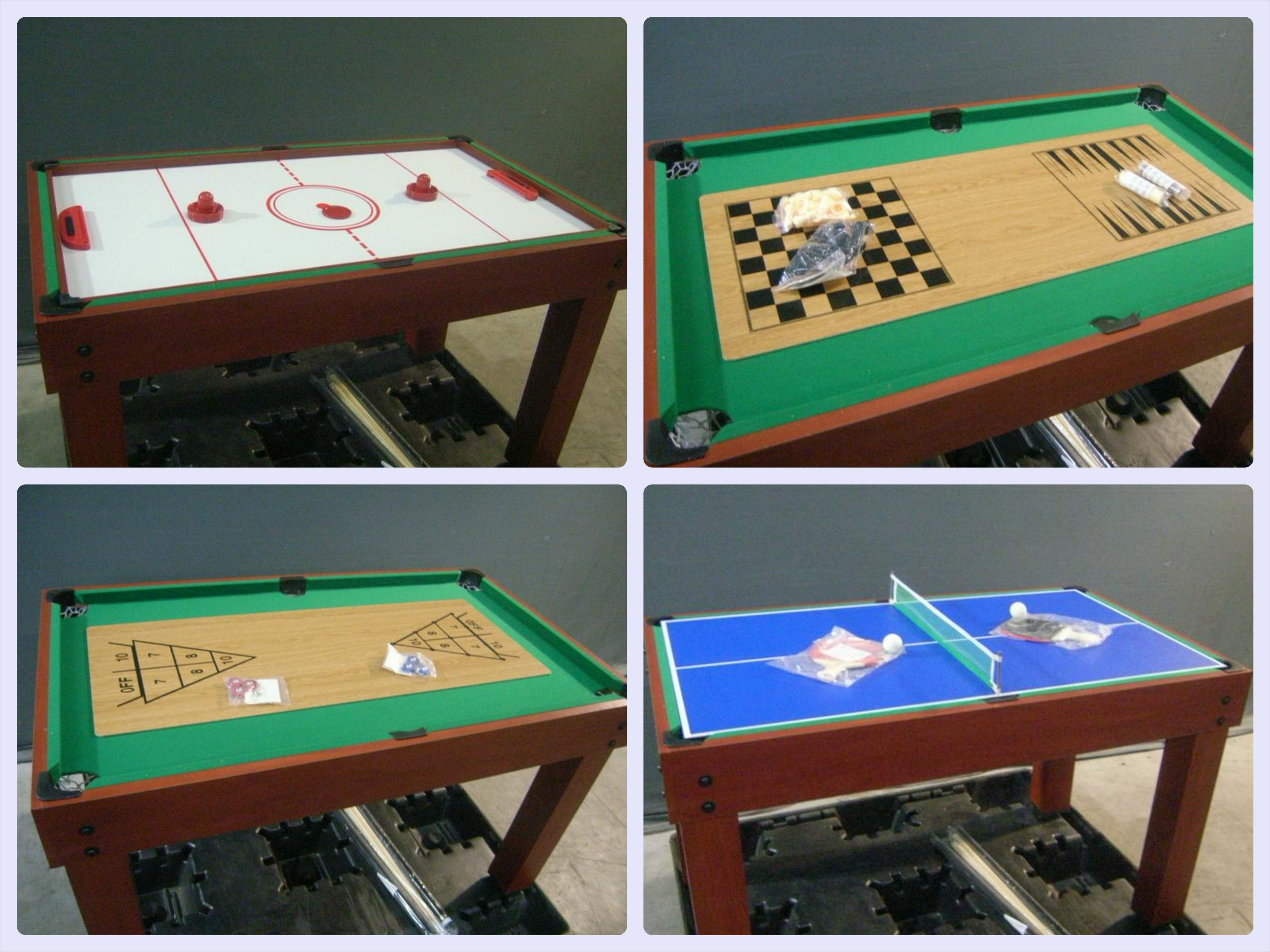 This Multi Functional Game Table Would Be Great For The Rec Room Or The Man