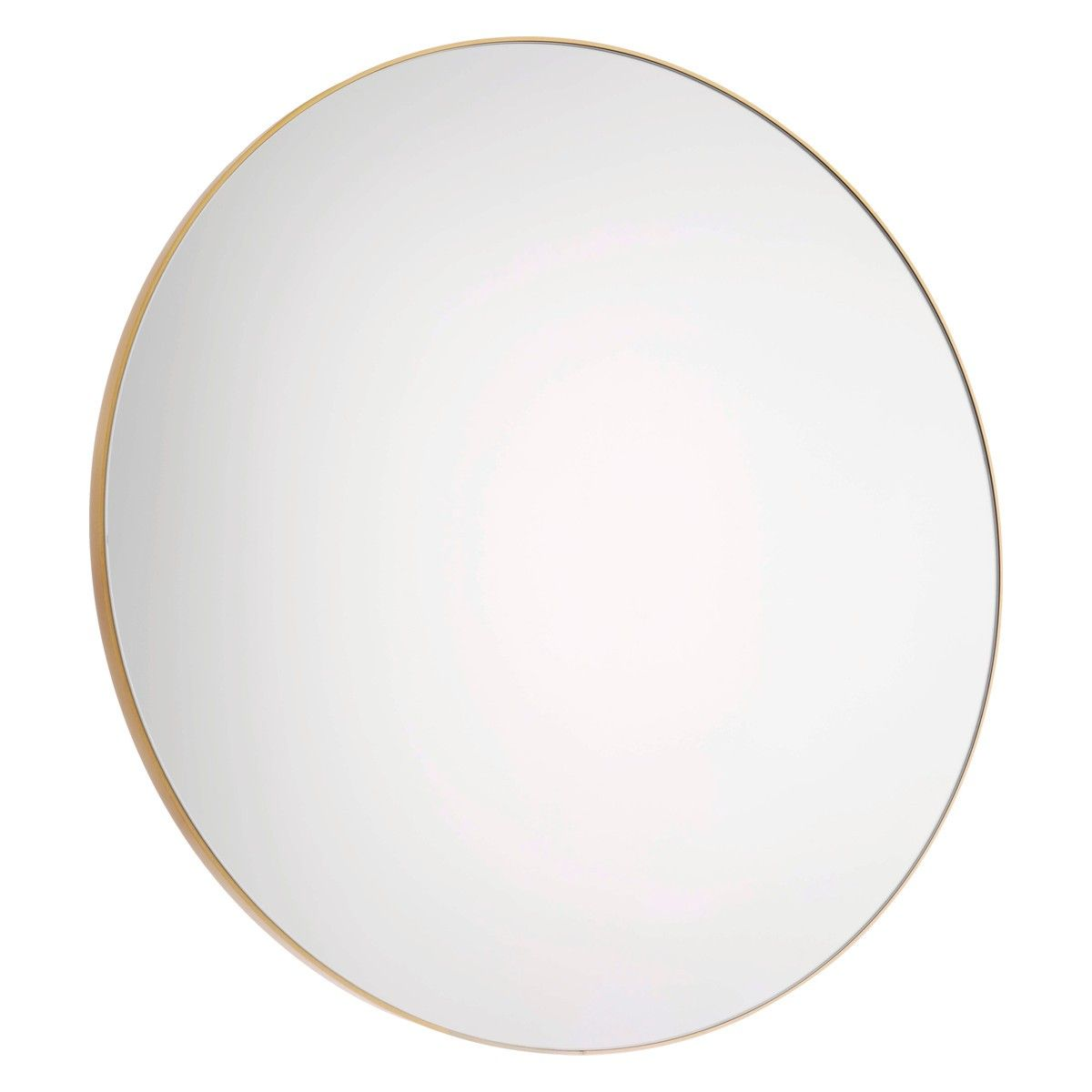 Black vanity salons vanities habitats the mirror outlets mirror - Patsy Large Round Gold Wall Mirror D82cm