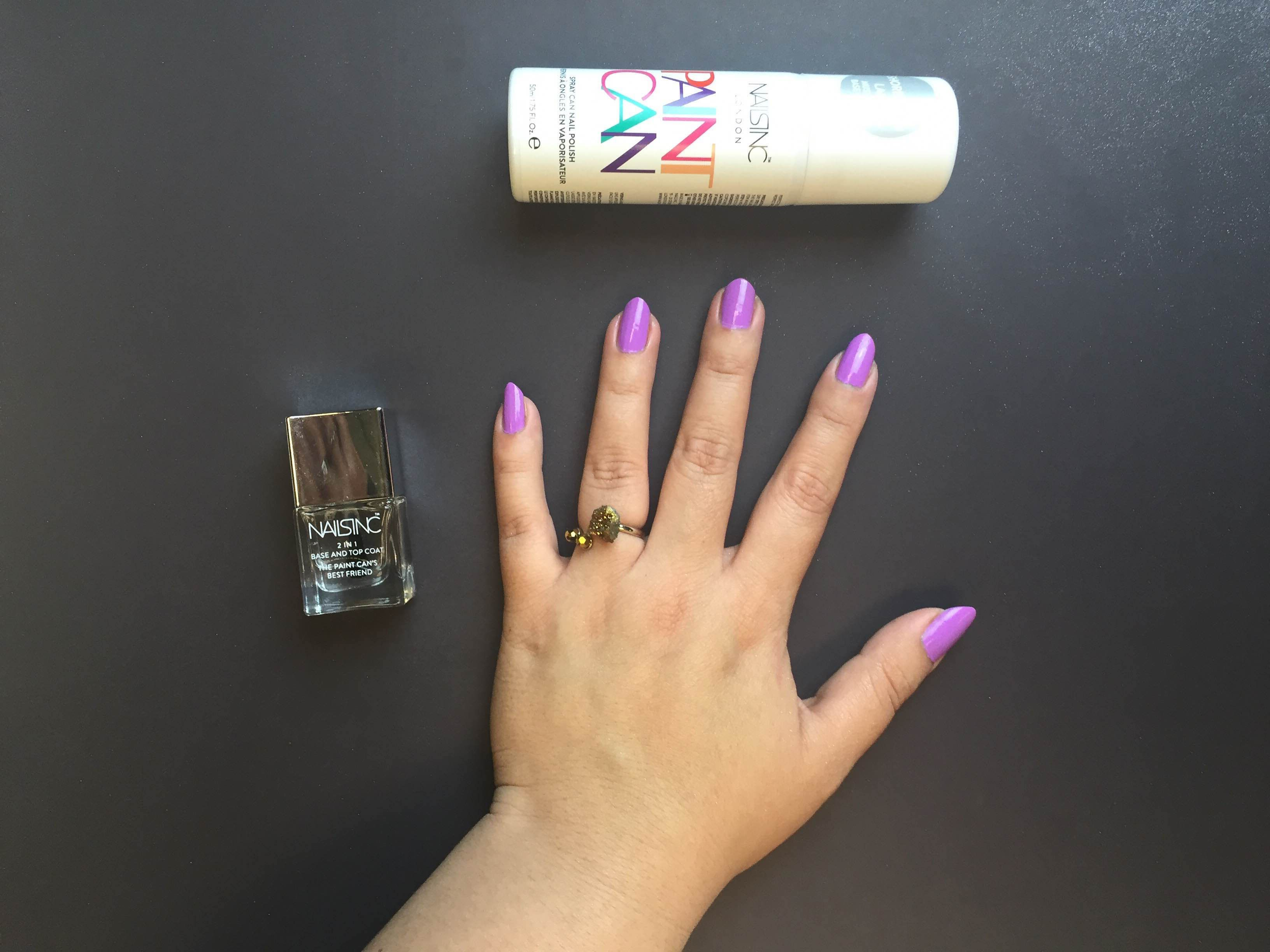 Nails In Spray On Polish Tape 1