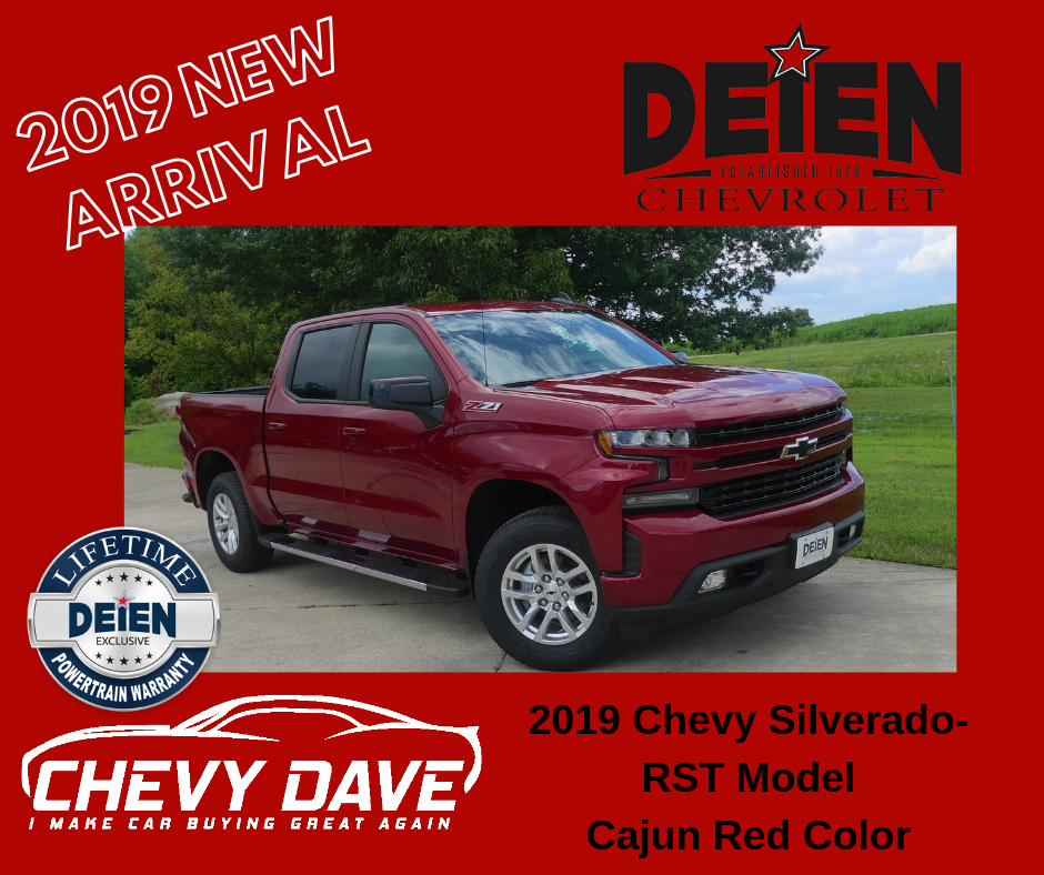 New 2019 Alert 2019 Chevrolet Silverado Rst Model Just Hit The