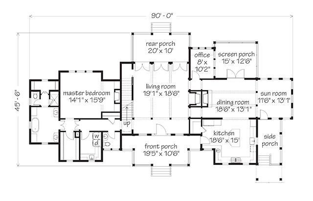 Ashepoo Crossroads Main Floor With Images Floor Plans How To