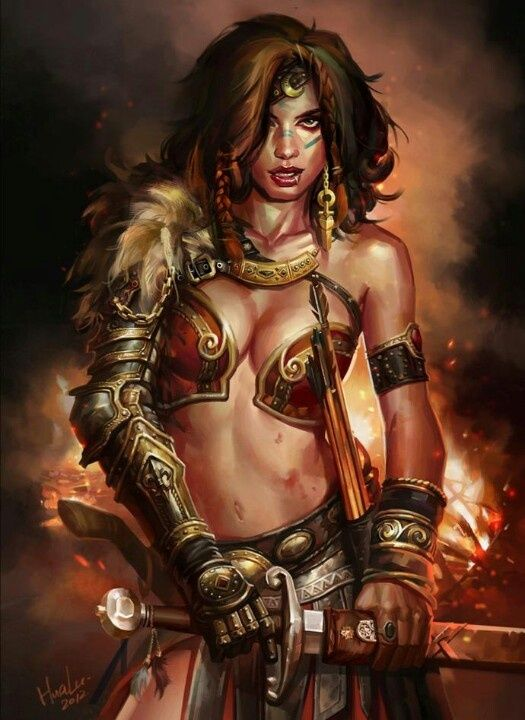 Fantasy naked female warrior fantasy pics 333