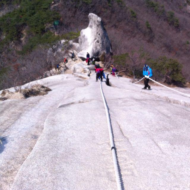 수락산 기차바위