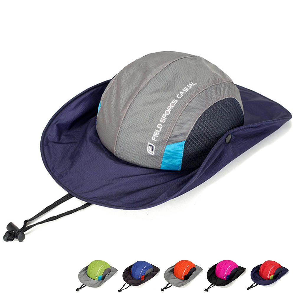 927399d7d22c0 Wide Brim Fishing Hat Outdoor Sun Protection Camping Bucket at  shoppingdiscounts