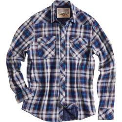 Rokker Illinois Hemd Weiss Blau M Rokker – Business outfits