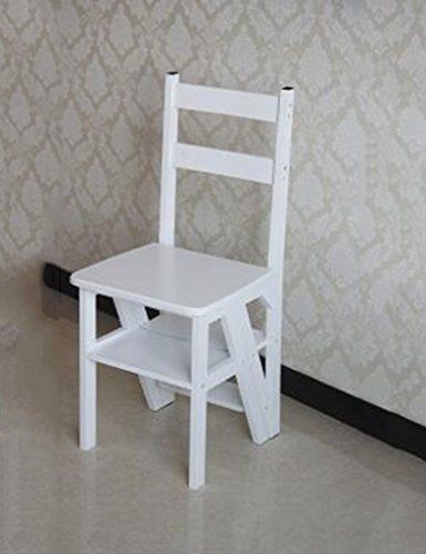 Best American Style Solid Wood Dual Use Staircase Chair Ladder 400 x 300