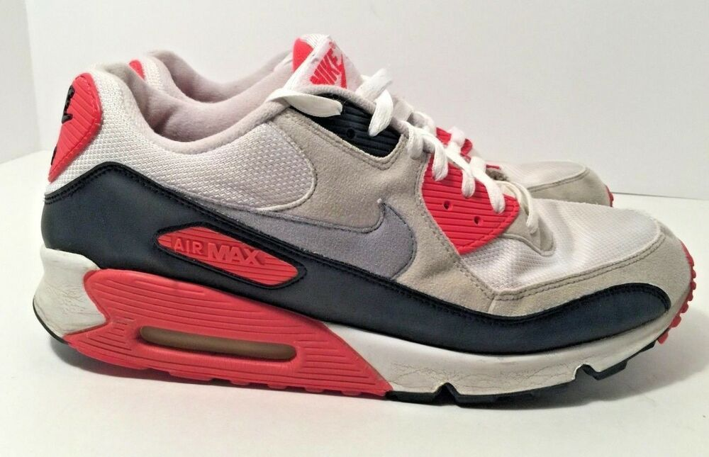Details about Nike Air Max 90 Infrared 2010 Size 11.5 325018 107