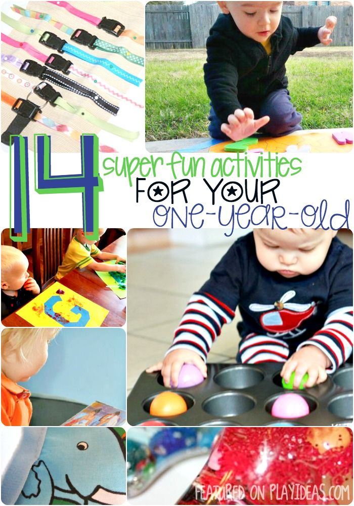 14 Fun Activities For Your 1 Year Old Play Ideas