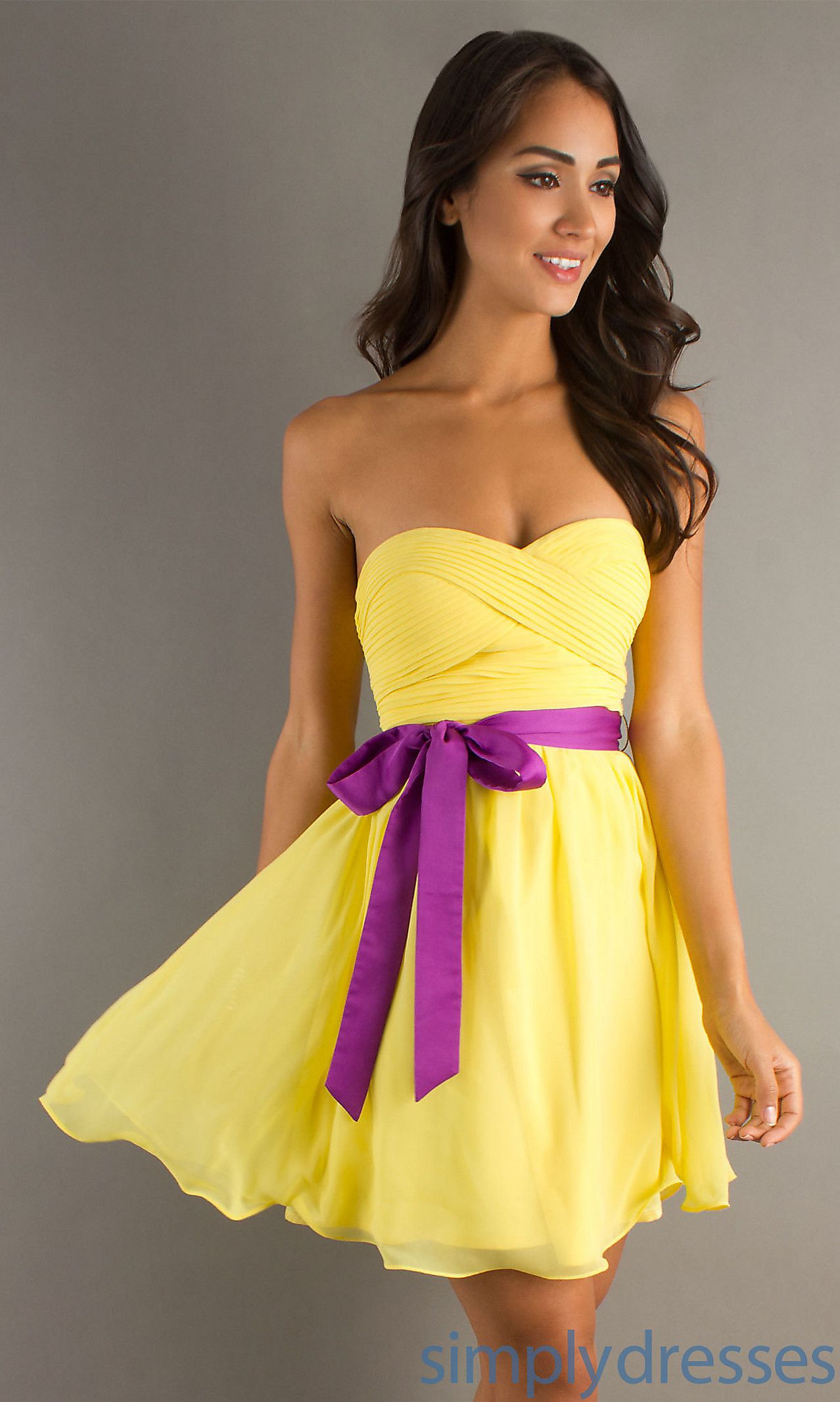 29++ Yellow wedding dress short ideas in 2021