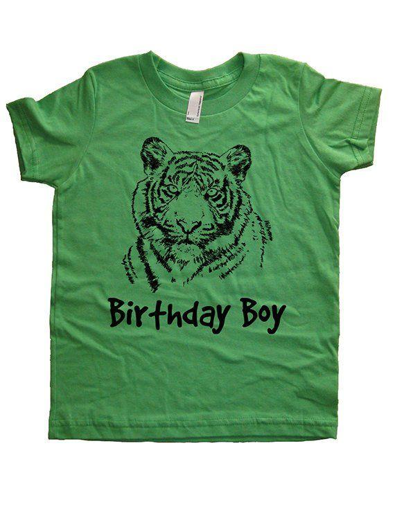 Birthday Tiger Shirt