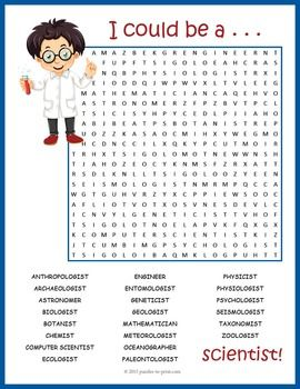 Rare image with science crossword puzzle printable
