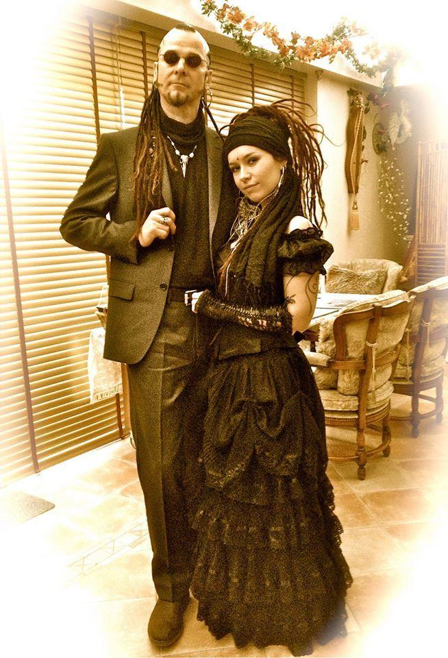 Steve and Jenny from OMNIA, Pagan Folk Band