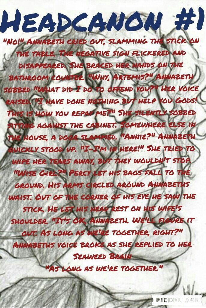 Ever wonder if Annabeth had trouble getting pregnant? | Headcanon