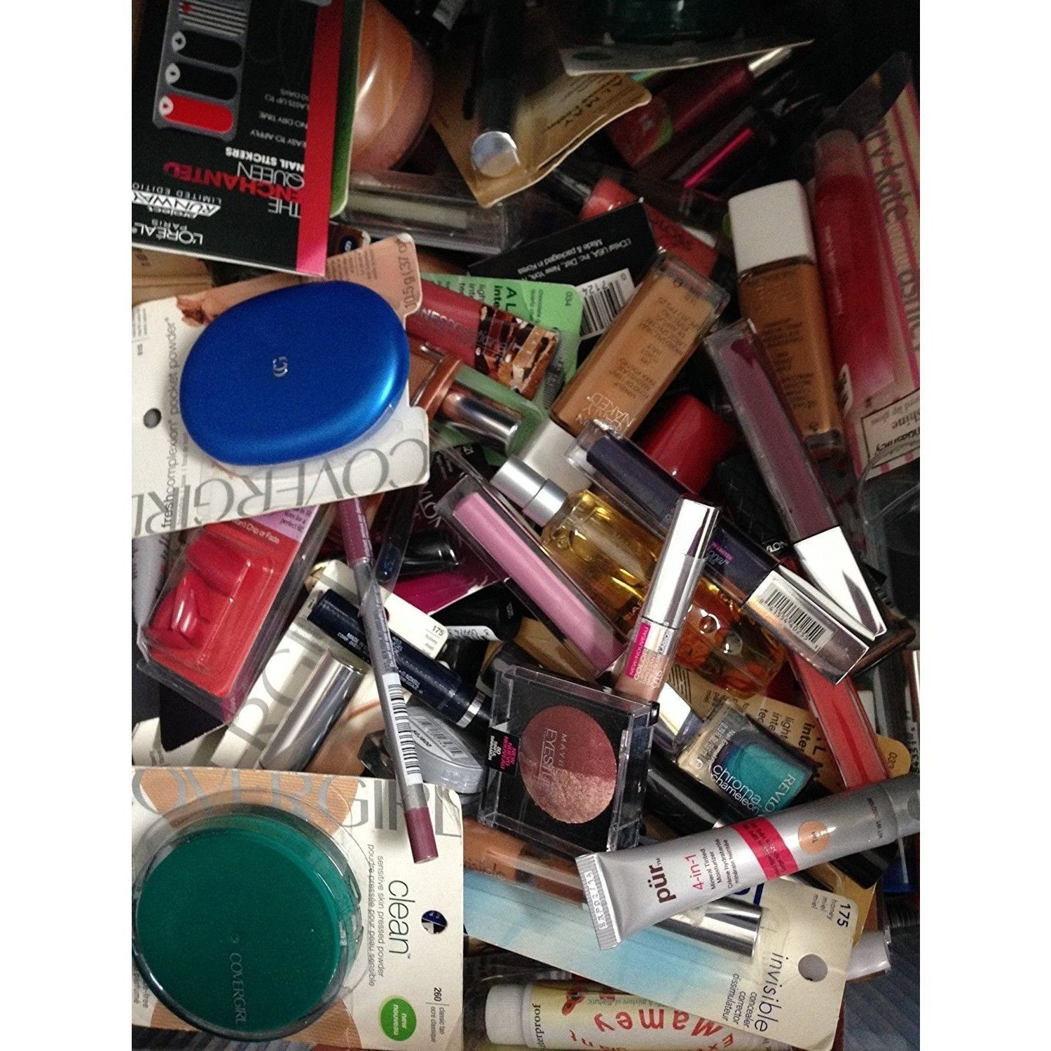 75 piece Wholesale Makeup Assorted Lot L'oreal