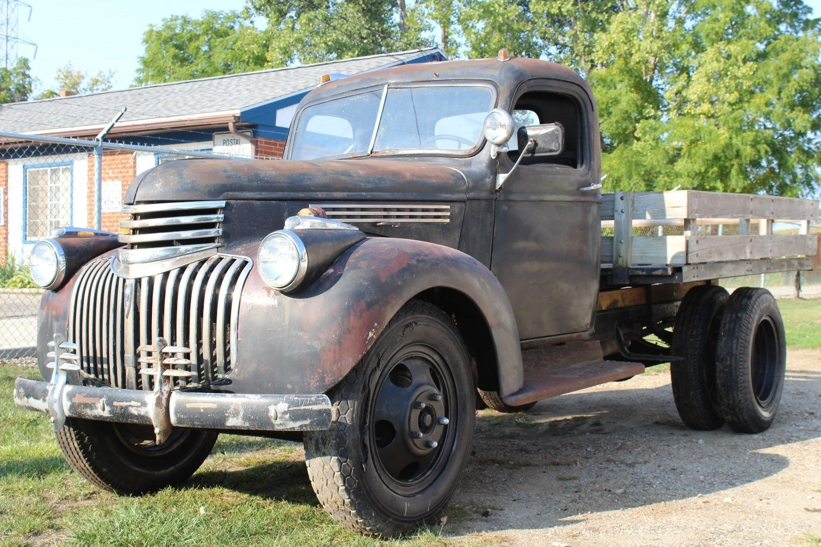 solid 1946 Chevrolet 1 1/2 Ton Stake Truck project | Project cars ...