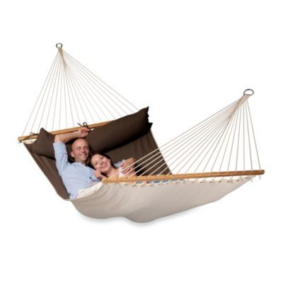 Coolaroo Double Person Hammock With Bar Bedbathandbeyond