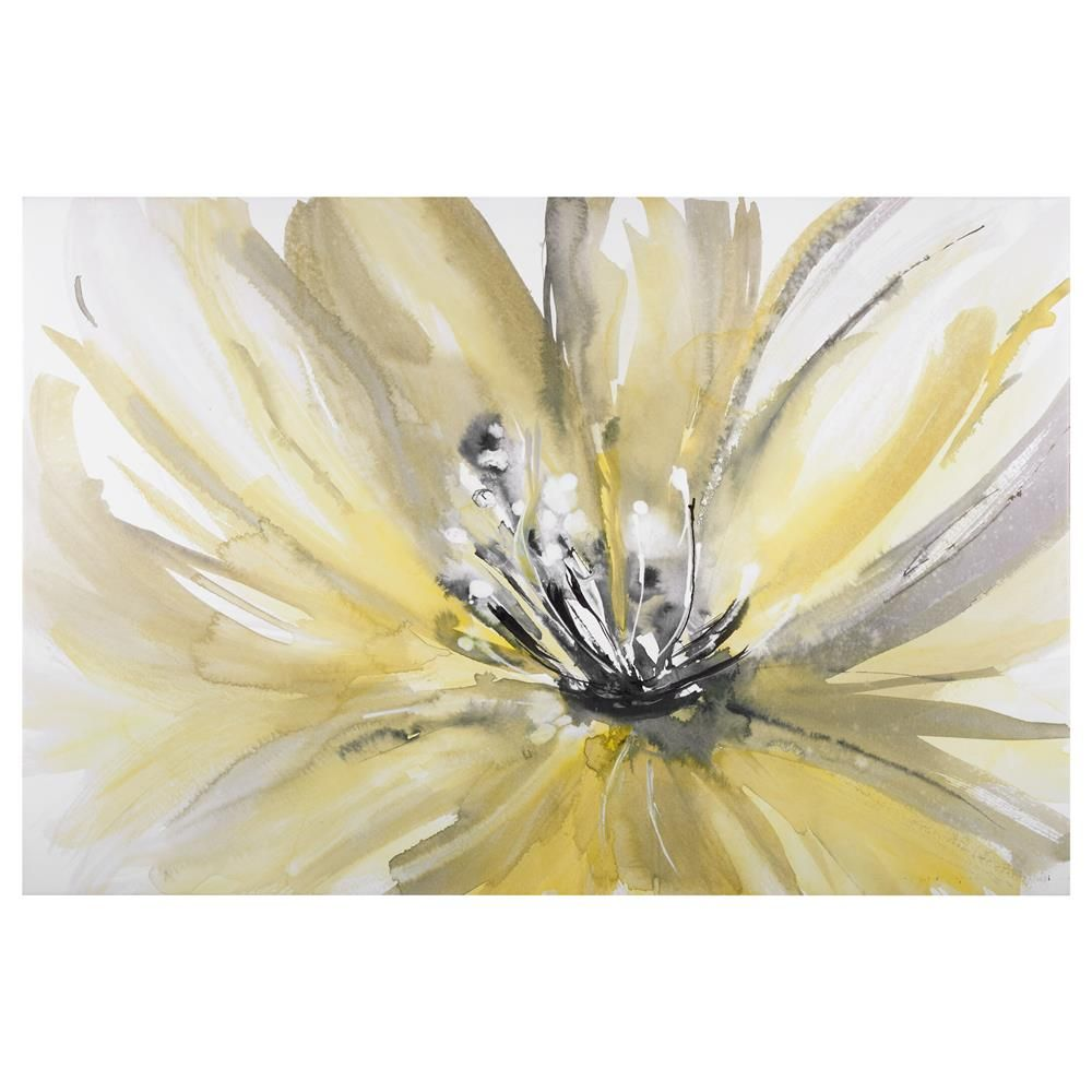 Flower Canvas   Bouclair.com   Art   Pinterest   Flower canvas ...