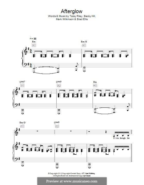 Wilkinson Afterglow Wilkinsonvevo Piano Sheet Electronic