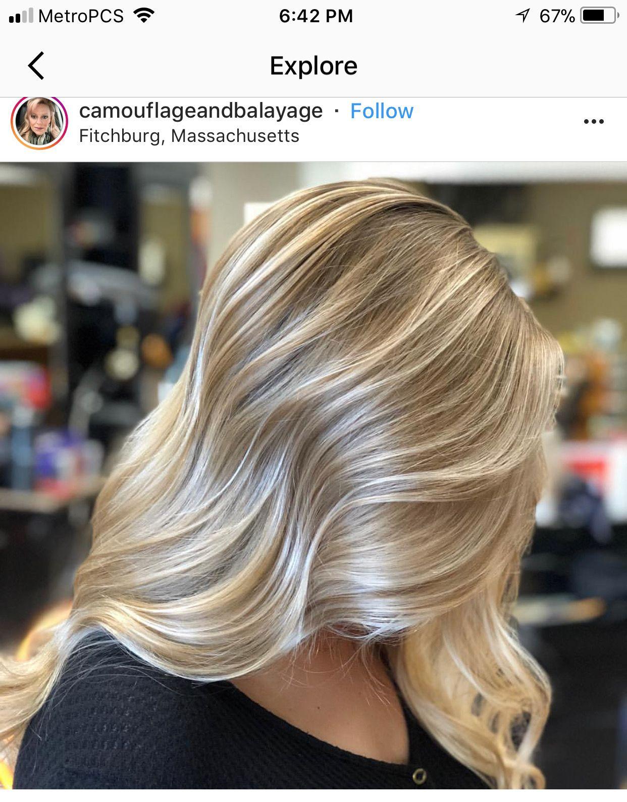 Pin by Caitlin Reed on Hair  Iluminacion de cabello Pelo