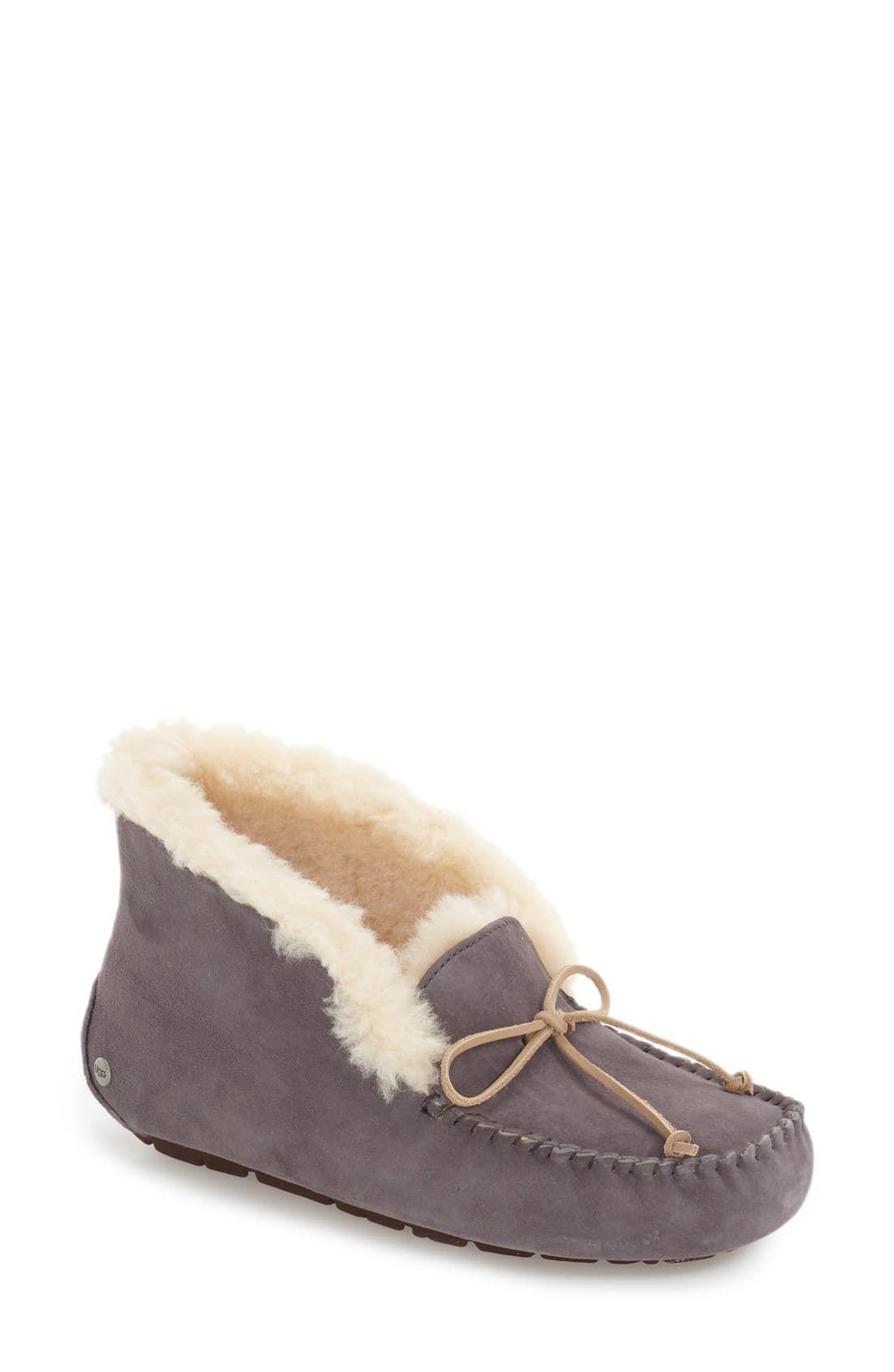 734305d221b Women's Ugg Uggpure™ Alena Suede Slipper Bootie, Size 5 M - Blue in ...