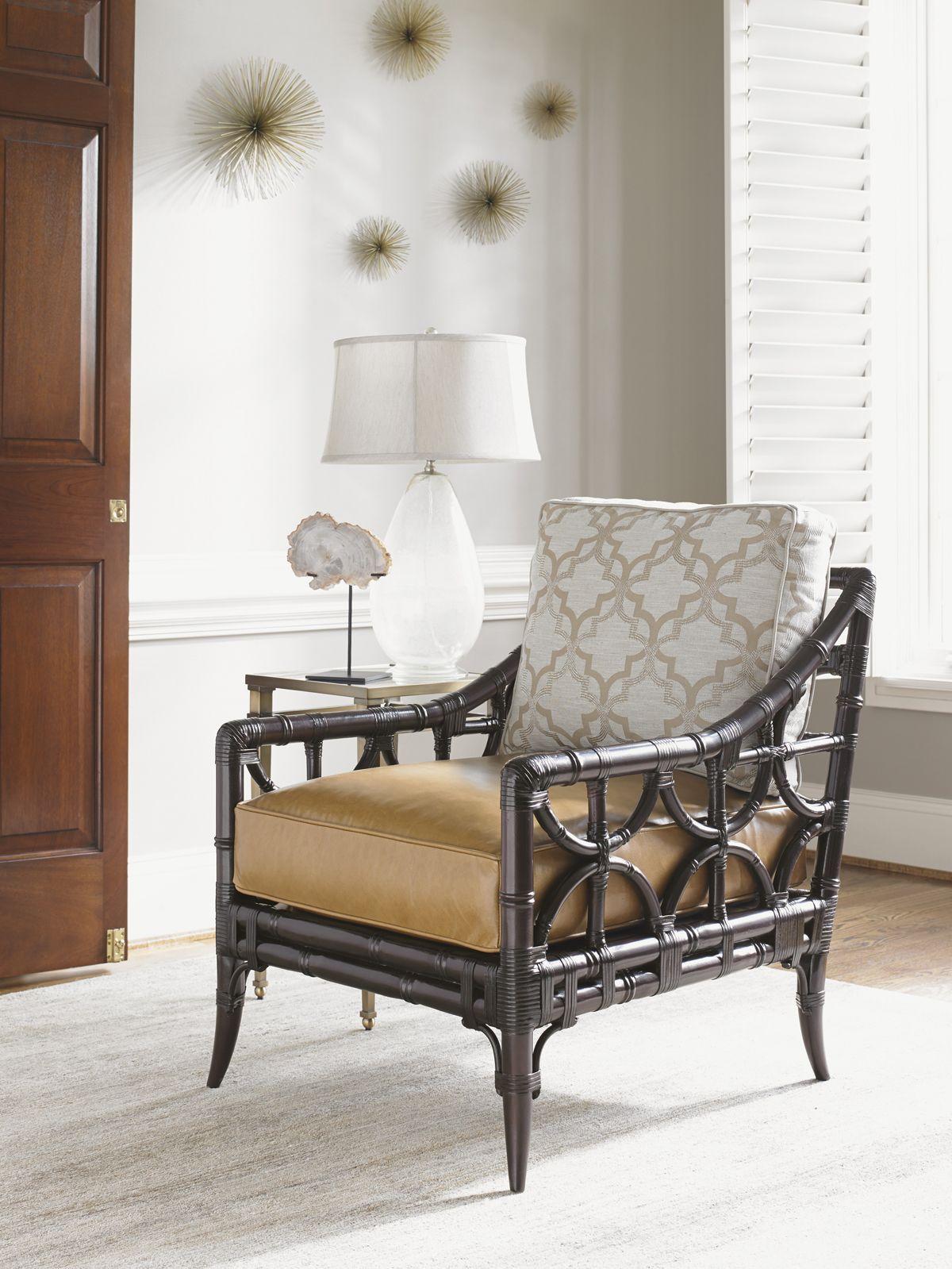 Kensington Place Eldridge Leather Chair Lexington Home