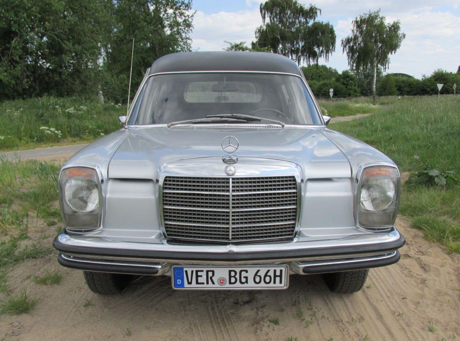 Mercedes Benz W115 Strich 8 Leichenwagen Bestattungswagen H ...