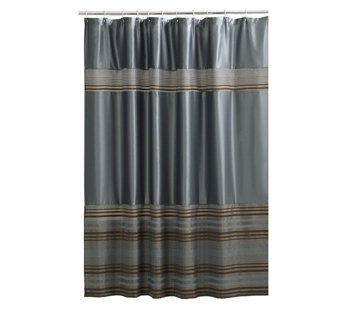 Mark Fabric Shower Curtain Blue Fabric Shower Curtains Brown Shower Curtain Curtains