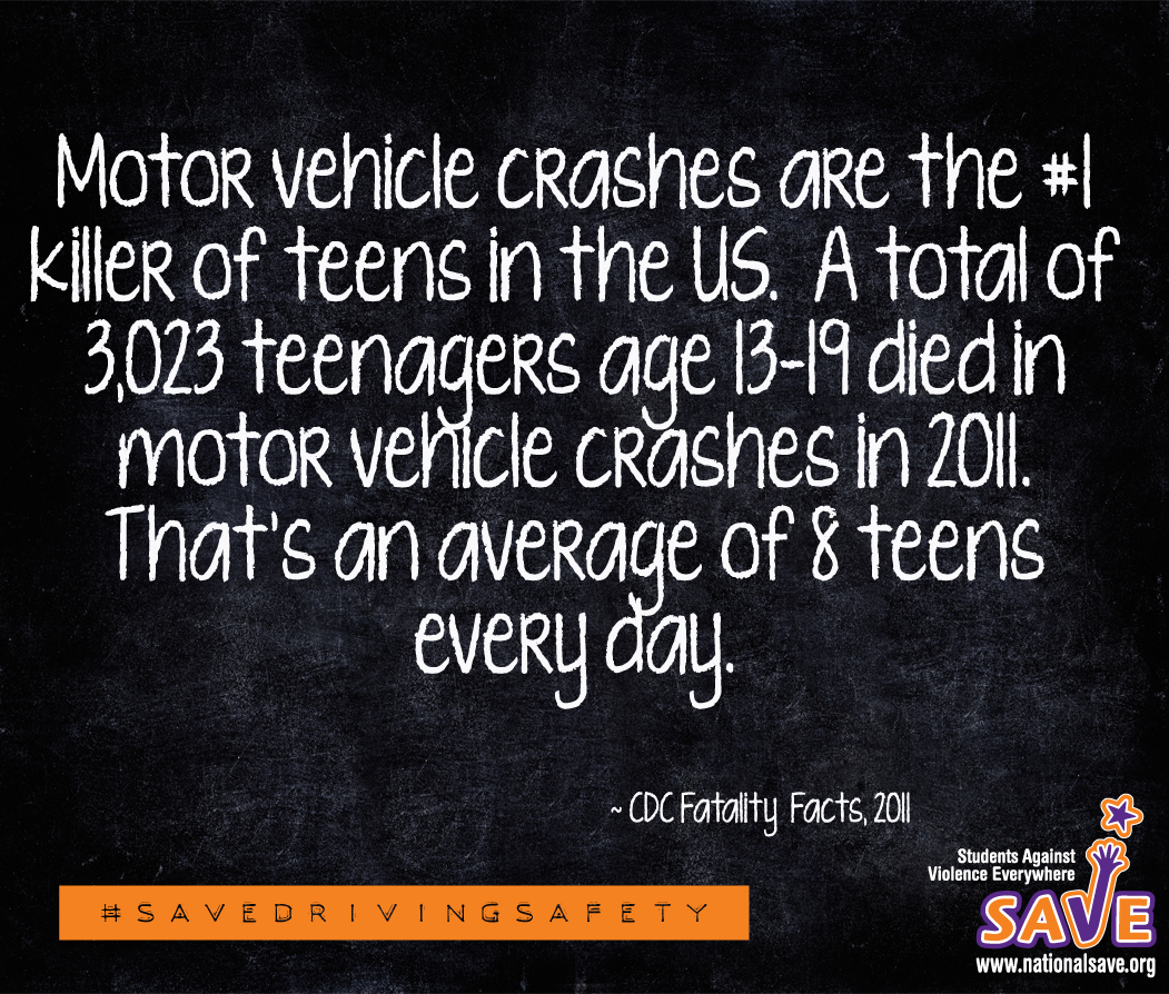 May is National Teen Safe Driving Month! https://nationalsave.org/wp-content/uploads/2013/03/National-Youth-Traffic-Safety-Month-web1.pdf #savedrivingsafety #teencrashes #nationalsave