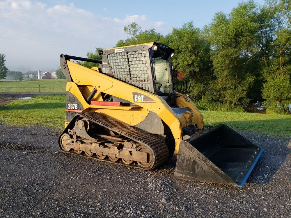 2004 Caterpillar 267 Compact Track Skid Steer Loader Cat