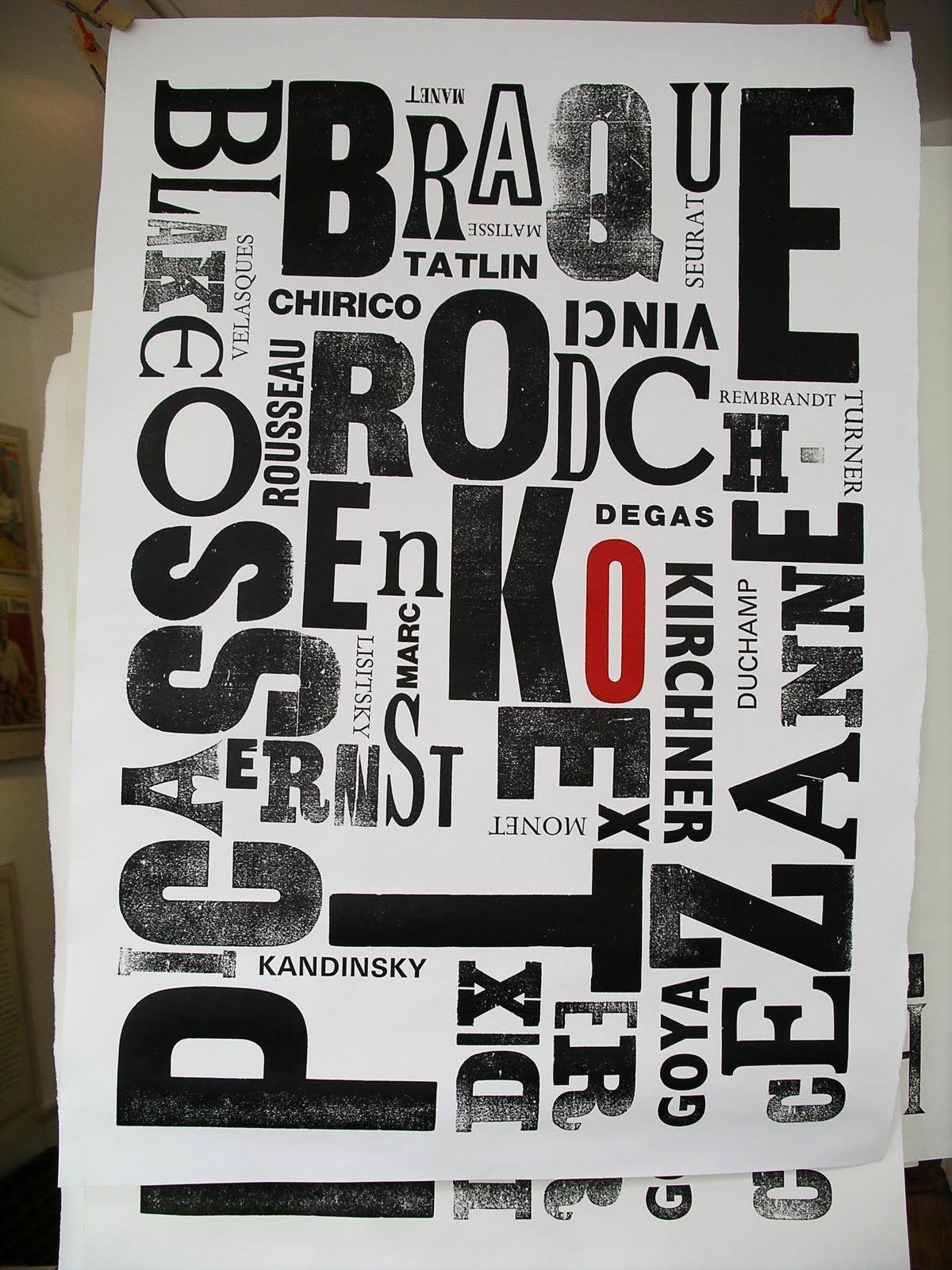 typographical poster