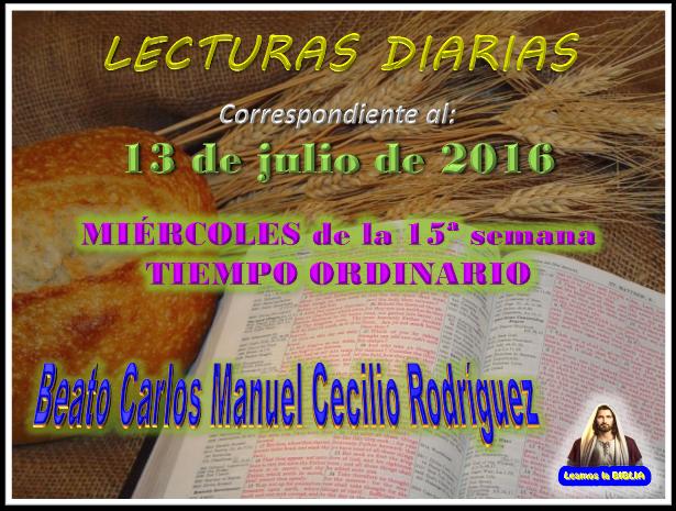 Leamos la BIBLIA: Lecturas