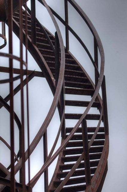 Best Rusty Stairs Stairs Spiral Staircase Decor 400 x 300