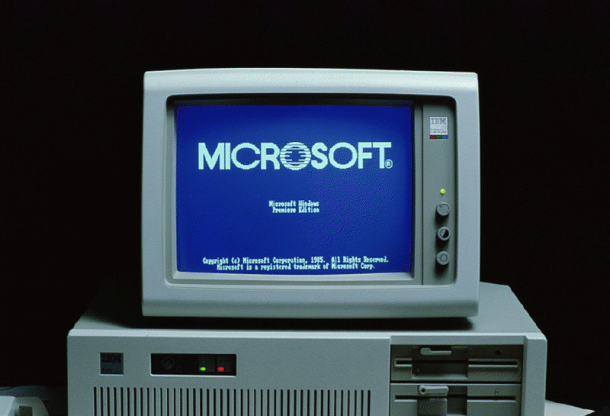 Microsofts First Computer