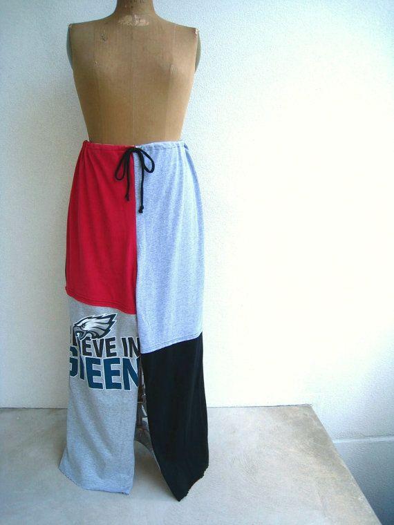 wholesale dealer 32c86 9770b Philadelphia Eagles TShirt Pants Plus Size Clothing Recycled ...