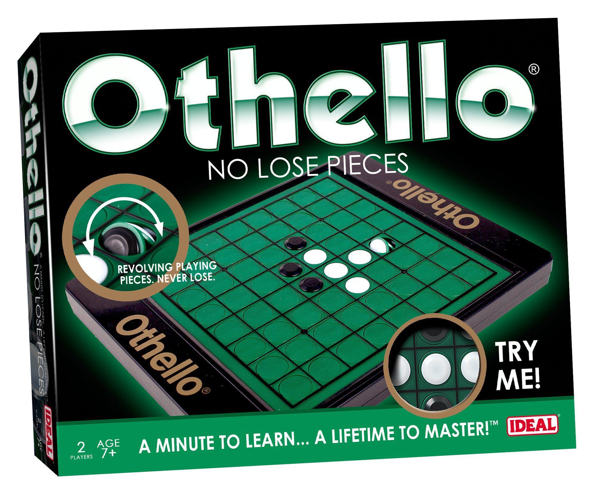 Game Othello No Lose Pieces Old school board games