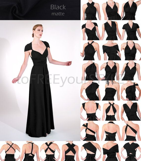 450b8988165 The FREE-STYLE convertible Dress One Dress - Infinite Styling Options!  PERFECT for  - Bridesmaid dresses they can ACTUALLY wear again! -
