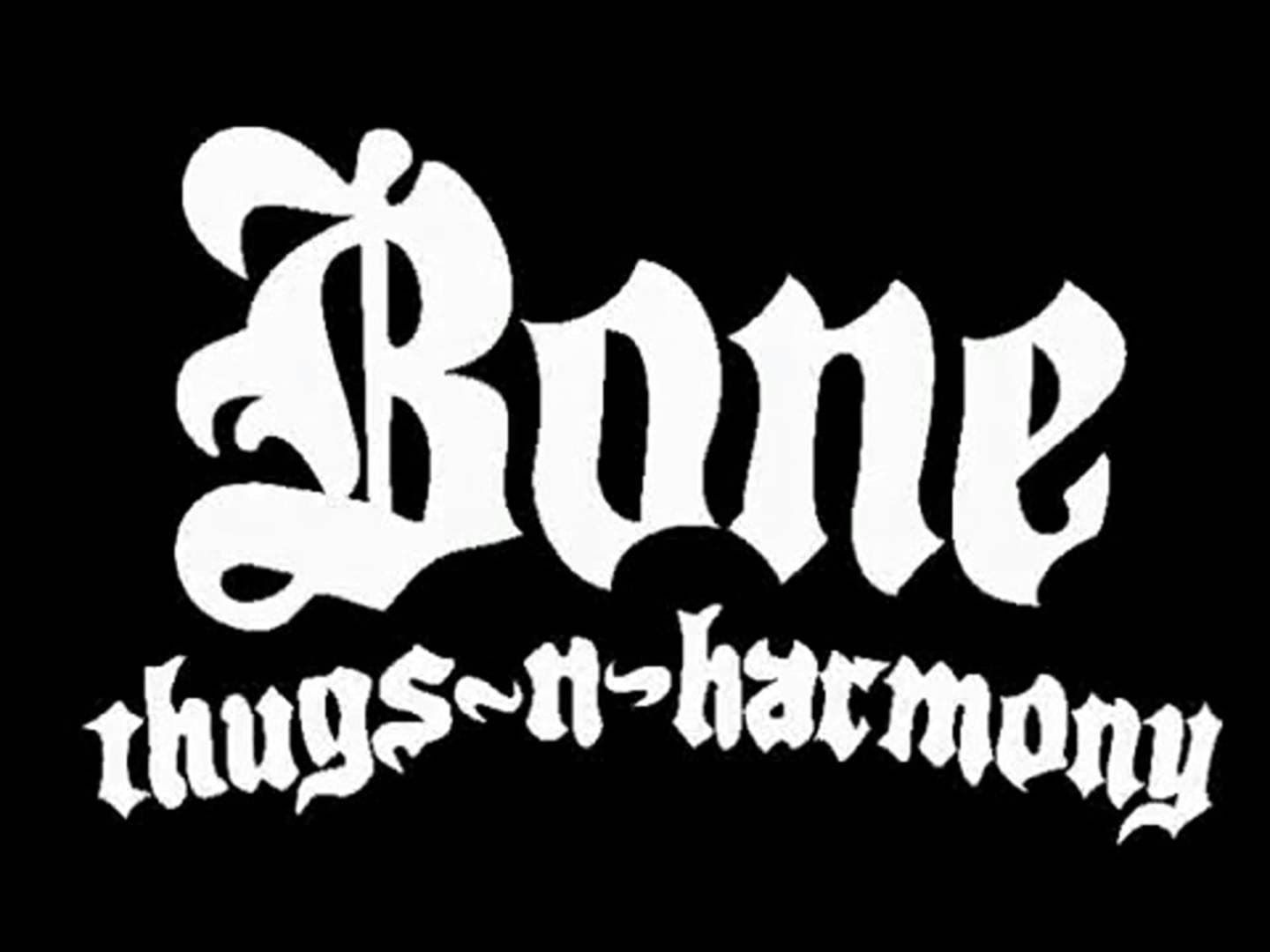 Bone Thugs N Harmony 2hr Hit Mix Thug Harmony Typographic Design