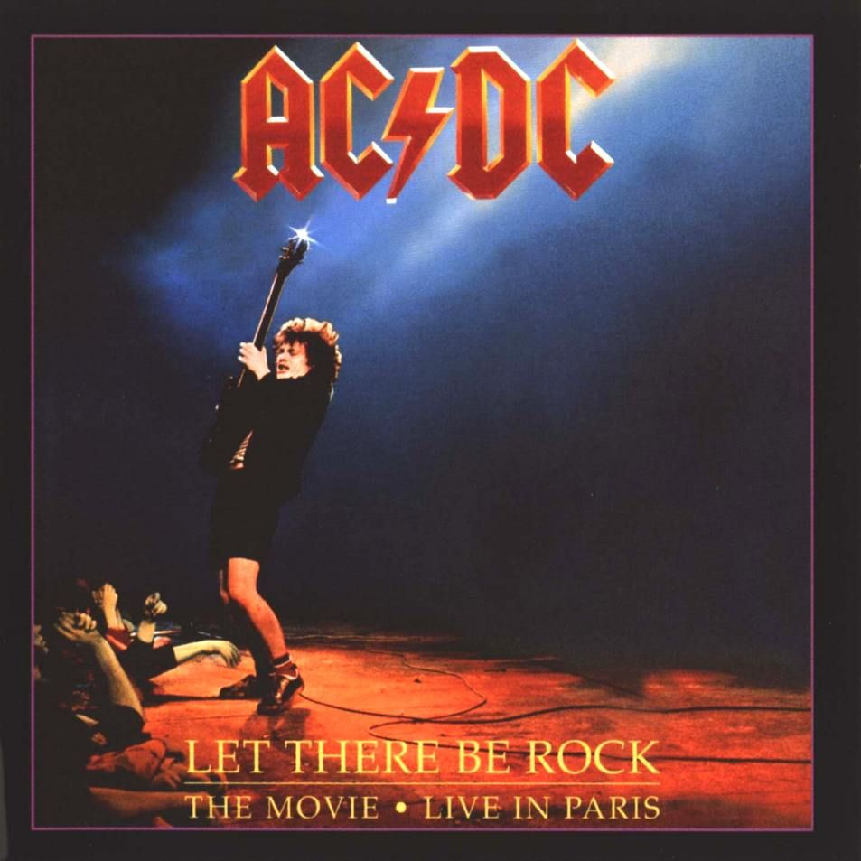 Ac dc bonfire let there be rock the movie 1997 acdc