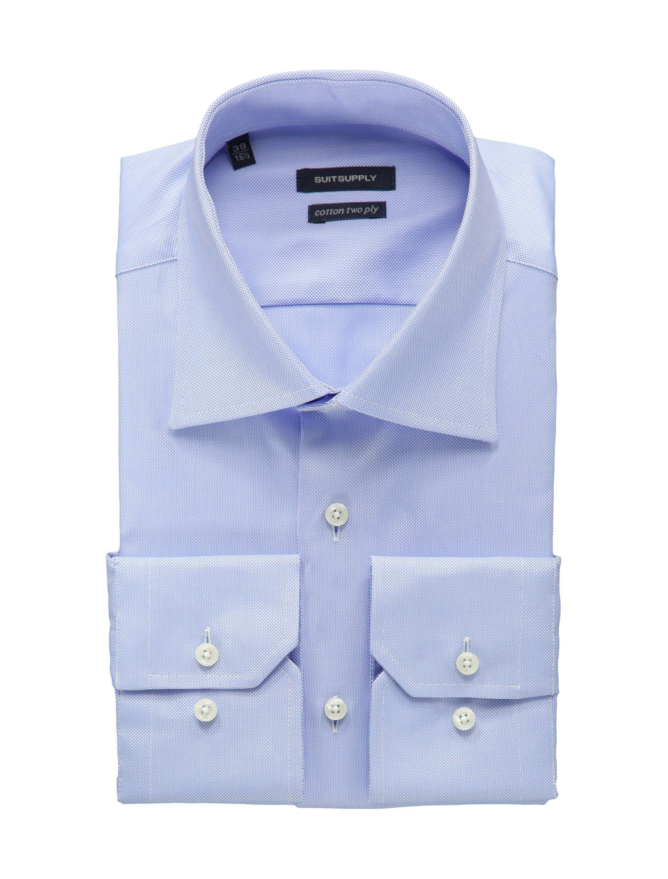 7dd874982c9c Blue Oxford Shirt   Suitsupply   Menswear   Blue oxford shirt ...