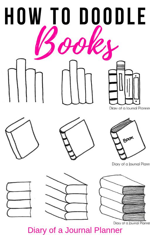 Bullet Journal Book Doodles #bookstoread