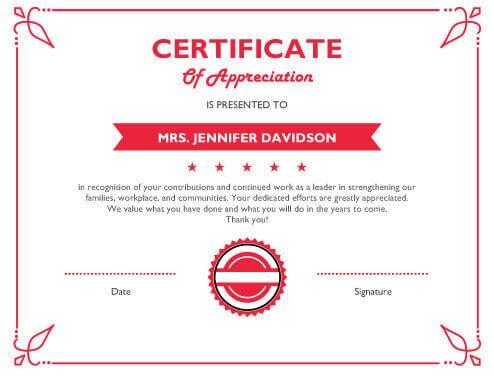 Free Certificate Template by Hloom AJEEMON NARAYAN Pinterest