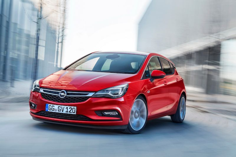 The Opel Car Century Old Tradition And Modern Design Hatchback